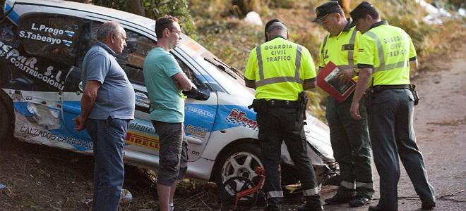 Accidente de rally en La Coruña: no es un tramo peligroso