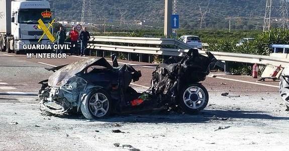 Accidente mortal en la Vall d'Uixó