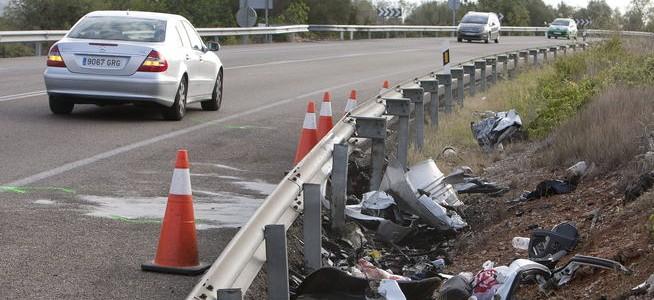 Bajan los muertos en accidentes de tráfico en Castellón