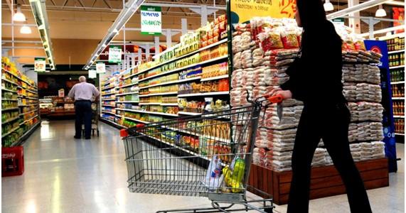 Caída en un Supermercado