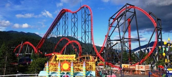 Caída y accidentes en parques de atracciones