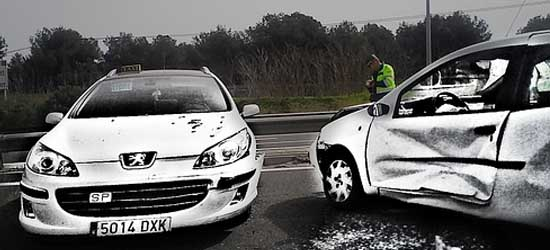 ¿Cuánto cobraré como víctima de un accidente de tráfico?