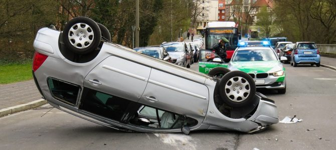 Daños materiales en accidente de tráfico
