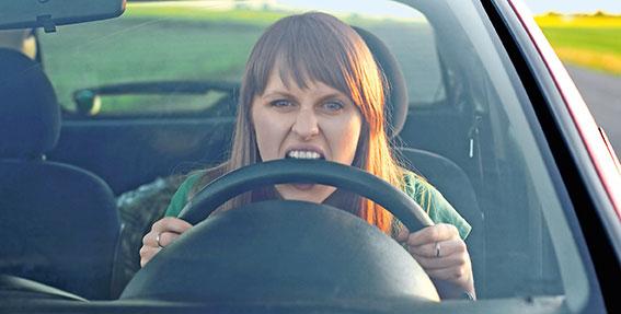 Distracciones en accidentes de tráfico