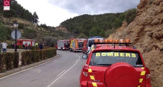 Dos jóvenes fallecen en accidente de tráfico en Castellón