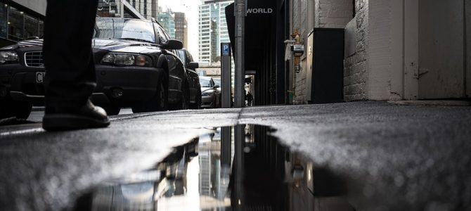 Reclamar una caída en la calle